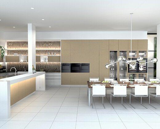 最新のグラフィックシステムで理想のキッチンを実現可能に